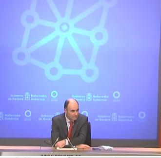 Ayerdi dimite como consejero del Gobierno de Navarra por el caso Davalor, investigado por el TS