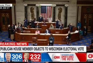 El Congreso de EEUU afirma la victoria de Biden tras la irrupción de