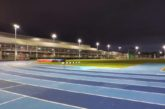 La pista de atletismo del Estadio Larrabide contará con proyectores tipo LED