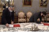 Gobierno y Ayuntamiento de Pamplona firman el protocolo para la cesión del solar de la antigua cárcel