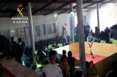 La Guardia Civil disuelve una pelea de gallos ilegal en Almería con menores de edad