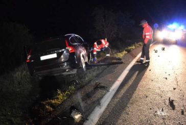 Una mujer fallecida y un herido leve en colisión frontal en Cárcar (Navarra)