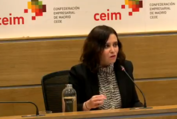Ayuso culpa al Gobierno de Sánchez de no impedir las fiestas ilegales en Madrid