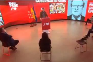 Sánchez presenta a Gabilondo como candidato a las elecciones de Madrid