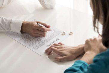 La pandemia del coronavirus redujo en un 13,3% las separaciones y divorcios en 2020
