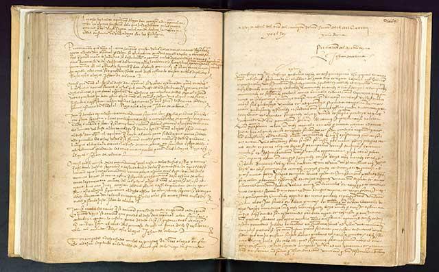 Cristóbal Colón y los Reyes Católicos