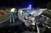Fallecen dos mujeres en una colisión frontal en Viana (Navarra)
