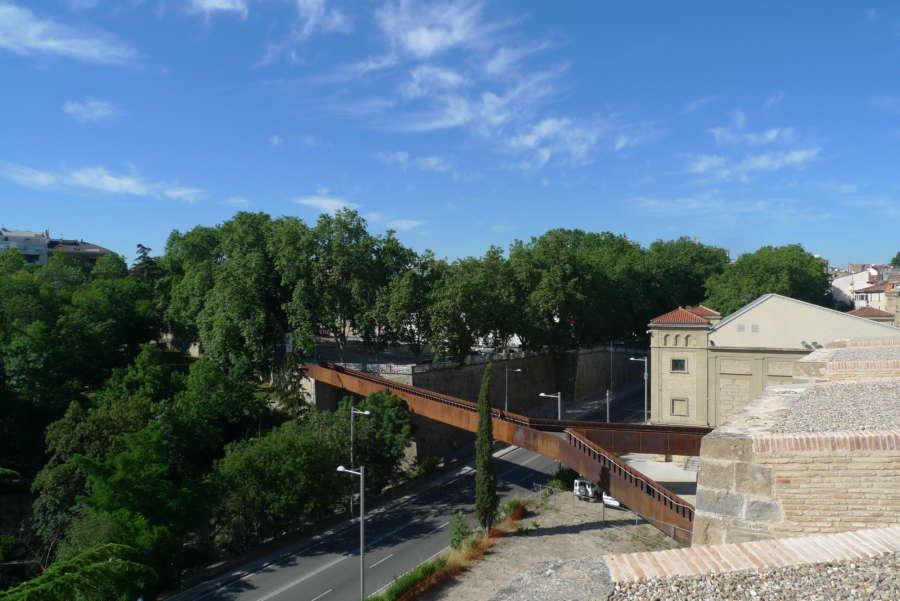 Pamplona licita la redacción de un proyecto de refuerzo estructural y acondicionamiento de la pasarela de Labrit