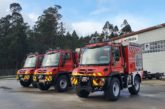 Tres nuevos vehículos para los parques de Bomberos de Tafalla, Estella y Oronoz
