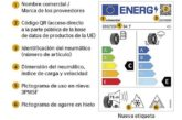 Los neumáticos estrenan un nuevo etiquetado europeo más seguro