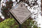 Pamplona recuerda a siete víctimas de ETA asesinadas en la ciudad con la colocación de sendas placas