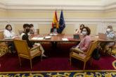 Sáiz y Maeztu abordan con el ministro Escrivá el traspaso del Ingreso Mínimo Vital