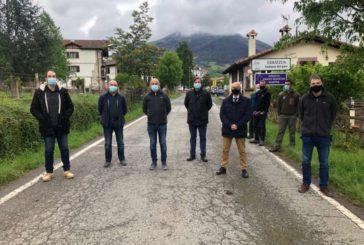 La carretera de Errazu (NA-2600) en el Valle de Baztán se ensanchará en 3 km