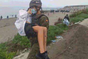 ATME muestra su apoyo a todos los militares y FCSE desplegados en Ceuta