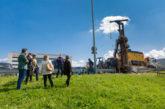 Universidad de Navarra realiza las pruebas de geotermia donde irá ubicado el nuevo Museo de Ciencias