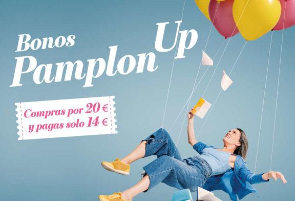 La campaña de bonos de comercio PamplonUp, finalista en la XIII Convocatoria de premios @aslan