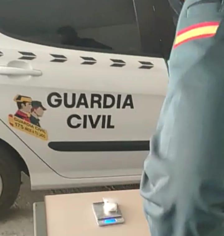Detenido en Tudela como autor de un delito de tráfico de drogas