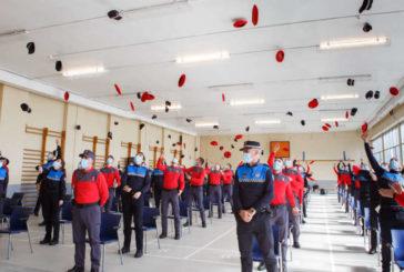 Un total 73 nuevos agentes superan el 'Curso de Ingreso Básico de Policía 2020'