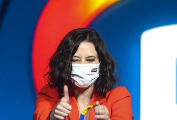 4 M: Ayuso gana a las izquierdas, se hunde el PSOE, desaparece Ciudadanos