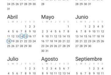 Días festivos en el calendario laboral para 2022 en Navarra