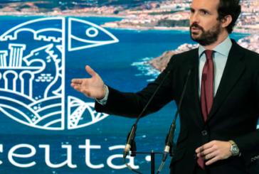 Casado acusa a Podemos de la crisis migratoria y pide a Sánchez que rompan su relación