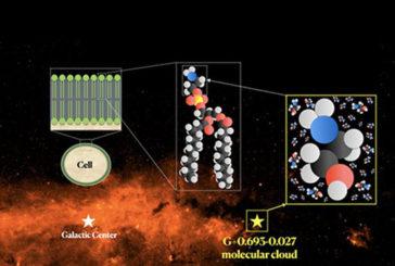 Descubren etanolamina en el espacio, una molécula clave en el origen de la vida