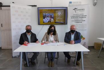 UPNA y Josenea Bio firman un convenio de investigación y divulgación en bioeconomía circular local