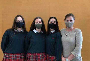 3 alumnas de Miravalles-El Redín ganan el certamen sobre turismo en Pamplona de la Universidad de Navarra