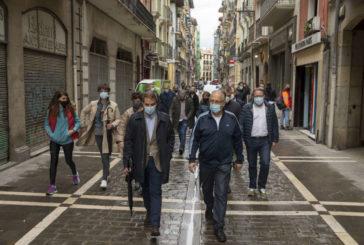 El alcalde y representantes de Hoteles de Pamplona recorren un tramo del Camino de Santiago