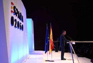 Sánchez anuncia una España 2050 sin vuelos cortos, tasas al uso de coches y una dieta sin carne