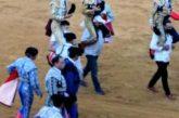 Marín triunfador en una tarde de orejas en Cintruénigo