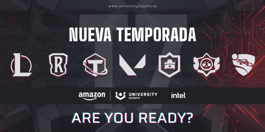 Dos universidades de Navarra participarán en la VII liga Amazon UNIVERSITY Esports