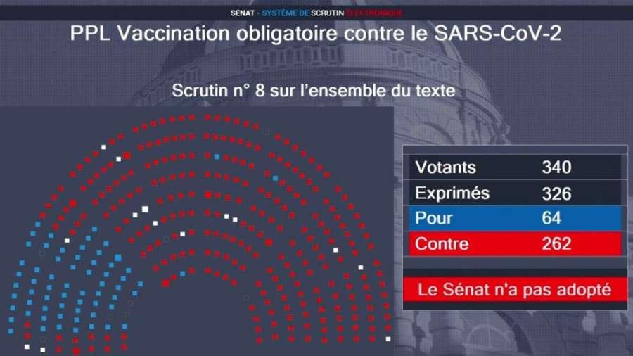 Francia rechaza la vacuna obligatoria contra el coronavirus
