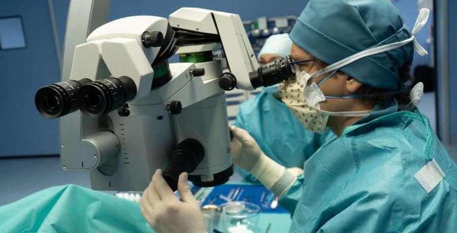 Trasplante parcial de córnea evita trasplantar toda la córnea